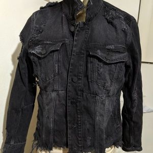 BLANKNYC Distressed Denim Jacket